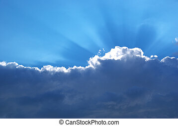 重い, 日光, 雲