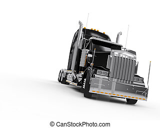 重い, 黒, トラック