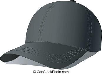 野球帽, イラスト, ベクトル