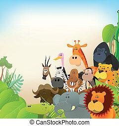 野生生物, 動物, 背景