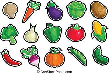 野菜, アイコン