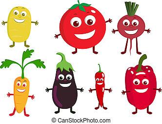 野菜, 特徴, 漫画