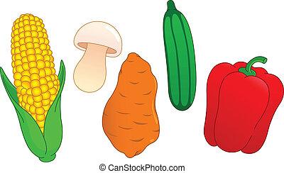 野菜, 3, セット