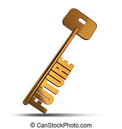 金のキー, 未来