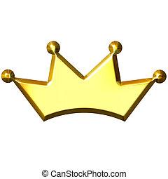 金の王冠, 3d