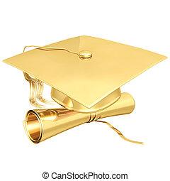金めっきされる, 卒業