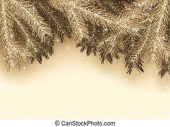 金, クリスマスカード, 挨拶