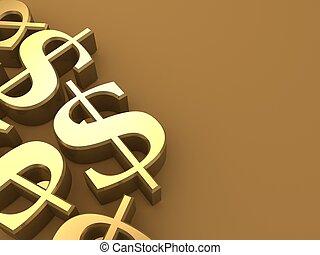 金, ドル