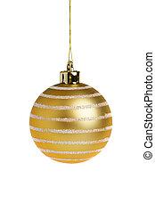 金, ボール, クリスマス