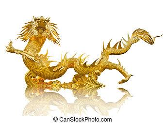 金, 巨人, 中国のドラゴン