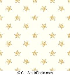金, 背景, stars., 休日, お祝い, seamless