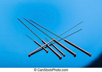 針, 刺鍼術