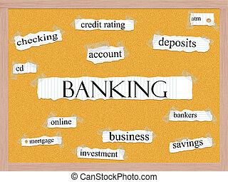 銀行業, 単語, 概念, corkboard