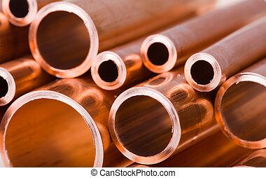銅, パイプ, 別, 直径