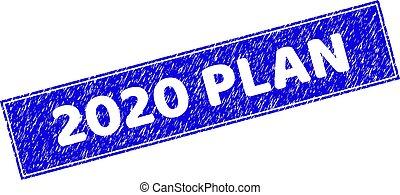 長方形, textured, シール, 切手, 2020, 計画, グランジ