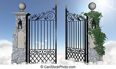 門, 天国