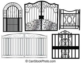 門, 装飾