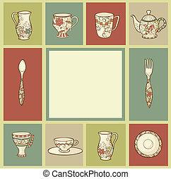 陶磁器, グリーティングカード