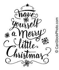 陽気, あなた自身, 持ちなさい, クリスマス, わずかしか