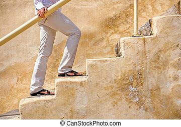 階段アップ