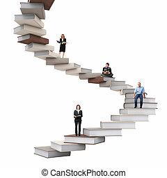 階段, 知恵