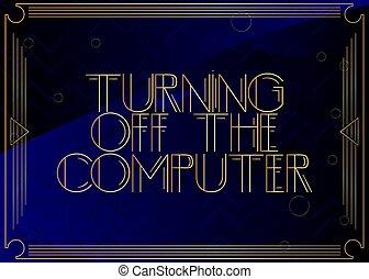 離れて, deco, text., 回転, コンピュータ 芸術