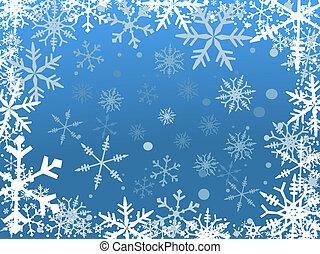 雪, ボーダー