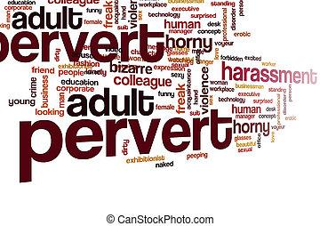 雲, 単語, pervert