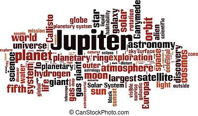 雲, 木星, 単語