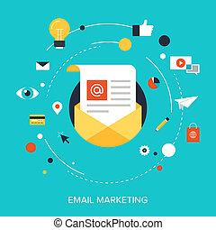 電子メール, marketing.