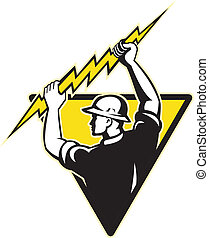 電気技師, 保有物, 力, 照明, ラインマン, ボルト