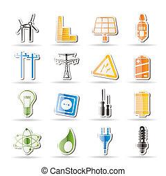 電気, 単純である, エネルギー, 力