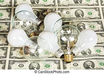 電球, 別, お金, 多数, 白熱, ライト, タイプ