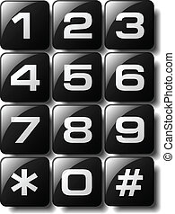電話キーパッド