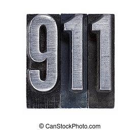 電話, 911, 数, 緊急事態