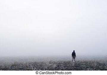 霧, 歩きなさい