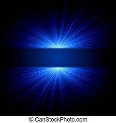 青いライト, 点