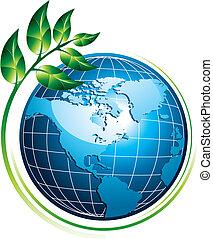 青い地球, 植物