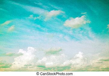 青い空, グランジ
