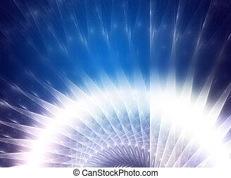 青, バックグラウンド。, 抽象的なデザイン, 技術的である