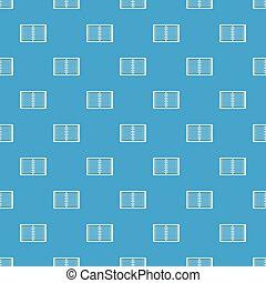 青, パターン, らせん状に動きなさい, seamless, ノート, 内側を覆われた, 開いた