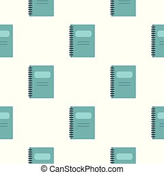 青, パターン, らせん状に動きなさい, seamless, ノート, 閉じられた