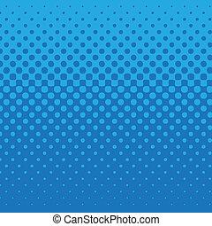 青, パターン, 点