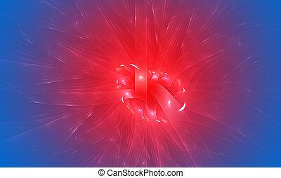 青, 抽象的, 効果, バックグラウンド。, 薄れていきなさい, 赤