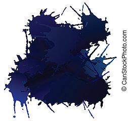 青, blots, ベクトル