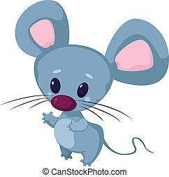面白い, わずかしか, マウス