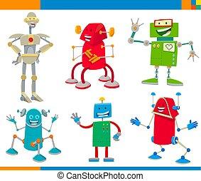 面白い, セット, 漫画, 特徴, ロボット