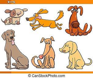 面白い, セット, 犬, 特徴, 漫画