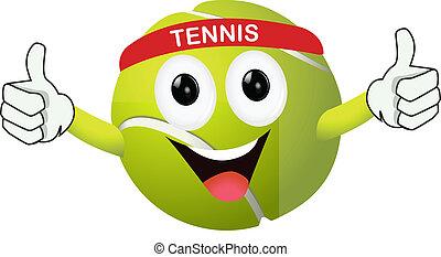 面白い, テニスボール