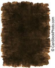 革, 古代, 羊皮紙, 背景, 手ざわり